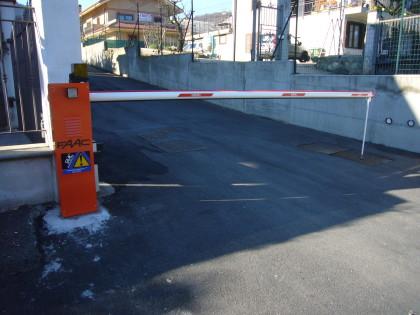 Barriera motorizzata