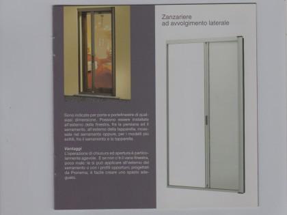 Zanzariere laterali per porte
